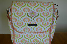 NWOT Petunia Pickle Bottom Cascading in Curacao Boxy Diaper Bag