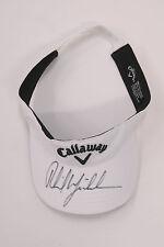 Phil MICKELSON SIGNED AUTOGRAPH AFTAL COA Callaway Golf Cap US Masters Winner