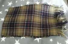 Beautiful Barbour Scarf New No Tags Wool