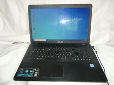 "Notebook 17,3"" 2,6ghz 4gb ddr3 di RAM 500gb HDD LAN WI-FI WLAN HDMI ASUS f751m"