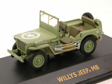 Willys Jeep MB C7 1944 U.S. US Army 1:43 Model 86307 GREEN LIGHT
