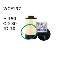 WESFIL FUEL FILTER FOR Iveco Daily 3.0L TD 2007 05/07-on WCF197
