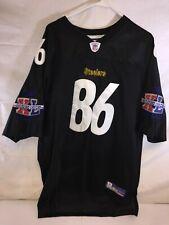 Hines Ward Pittsburgh Steelers SEWN Reebok Super Bowl Football Jersey XXL 54