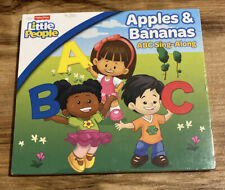 Fisher Price: Apples & Bananas: ABC Singalong - Kids Audio CD-A28