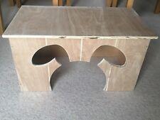 Handmade Rabbit Shelter Hideout