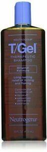 3 Pack Neutrogena T Gel Therapeutic Shampoo Original Formula Itch Relief 16Oz Ea