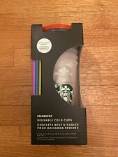 Starbucks Color Change Confetti Cups- 5 Pack 2021 Summer Edition
