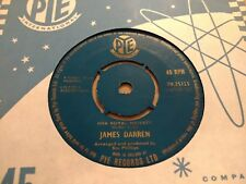 "JAMES DARREN "" HER ROYAL MAJESTY "" 7"" SINGLE PYE 1962 VERY GOOD"