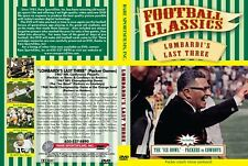 """Lombardi's Last Three (Packer Games) - Includes """"The Ice Bowl"""" on DVD!"""