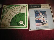 (2) Detroit Tiger 1973 items ~1973 Schedule & Al Kaline Detroit Magazine special