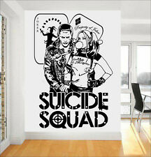 Harley Quinn & Joker Dc Comics suicidio escuadrón Task Force X Pared Arte Pegatina/Calcomanía