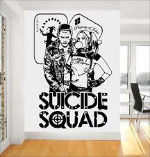 Harley Quinn & Joker DC Comics Suicide Squad Task Force X Wall Art Sticker/Decal