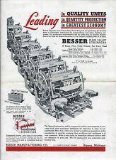 Equipment Ad - Besser - V Patrurzo Plant - Plain Pallet Stripper - 1942 (E5953)