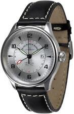 ZENO-WATCH BASEL Godat GMT (Dual Time) Ref. 6273GMT-G3 (Silver-Grey)