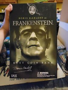 Frankenstein *Boris Karloff* Bust Coin Bank SOTA/XPLUS