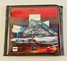 Rock and Roll Hall of Fame 20 CD Wallet Empty 1996 Rare Glossy MBNA MasterCard