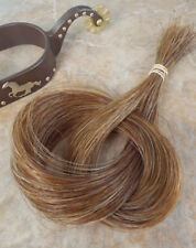 1 oz BULK*REAL horse hair Cinnamon brown* great CRAFTS/JEWELRY/ tail extensions