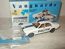 New Vanguards VA05508 Ford Consul 3000 GT,  Antwerpen Politie in 1:43 Scale.