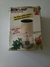 Very Rare Vintage SEB MINI CHOP FOOD PROCESSOR 1984 France MODEL 8551