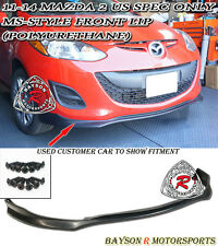 D-Style Front Lip (Urethane) Fits 11-14 Mazda 2