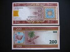 MAURITANIA  200 Ouguiya 2006  (P11b)  UNC