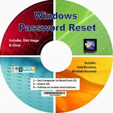 Best Windows Password RESET,  Unlock, Recovery, Remove CD - Windows, 10. 8.1, 7,