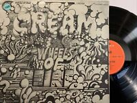 Cream – Wheels Of Fire LP 1968 Polydor – 184 167/68 Germany VG+/NM