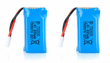 X2 7.4V 400mAh LiPo Battery RC DM007 Airplane Quadcopter Drone car helicopter