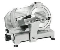 Aufschnittmaschine 25 cm 0-16 mm Allesschneider Schrägschneider Schneidemaschine