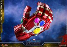 HOT TOYS Nano Gauntlet Glove Avengers Endgame Mini Figure Model Toy COSB572