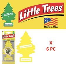 Freshener Vanillaroma  10105 Little Trees Vanilla Aroma  MADE IN USA Pack (6)