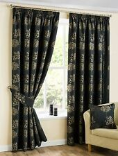 Polyester Tape Top Traditional Curtains
