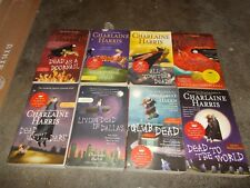 CHARLAINE HARRIS~55 BOOK COLLECTION~18 HARDCOVER~37 PBS~6 COMPLETE SERIES