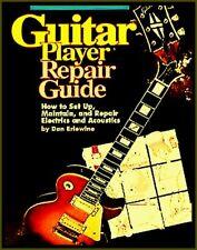 GUITAR REPAIR GUIDE 216 Pages A-Z Acoustics & Electrics Korpus Neck Pickups DIY