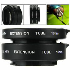 Autofocus AF Macro Extension Tube for Sony E NEX Camera A5000 A3000 NEX-5T LF434