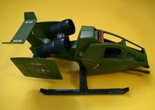 GI Joe vintage Rubiplas vehicle Sky Hawk G.I.Joe Venezuela rare