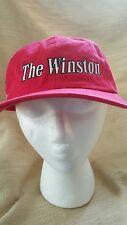 Nascar vintage Winston Cup Series Hat Ball Cap Adjustable slide Buckle Red