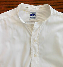 Tunic shirt CC41 size 15.5 Austin Reed Wartime mens clothes 1940s WW2 Collarless