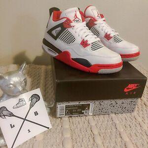 Air Jordan 4 Fire Red Retro , Size 7Y US