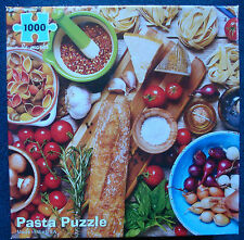 jigsaw puzzle 1000 pc Pasta bread tomatoes cheese Italian Re-marks