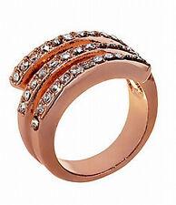 Tivoli Rose Goldtone Wrap Band Ring Size 7