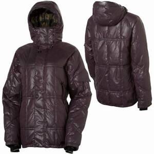 $210 NEW L1TA WAIT FOR ME 500-FILL DOWN SNOWBOARD JACKET WOMENS XS