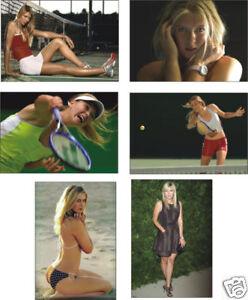 Maria Sharapova Tennis Great 6 Card POSTCARD Set