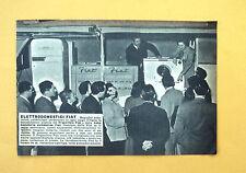 D005 - Advertising Pubblicità - 1953 - ELETTRODOMESTICI FIAT