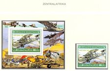 AVIATION PLANE AIRMAIL LUCHTVAART CENTRAFRICAINE  ETC  14  STAMPS + 1 B  MNH  VF