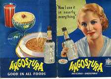 1930s Advertising Recipe Booklet for Angostura Bitters