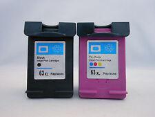 HP 63XL BLK 63XL CLR Ink for HP Envy 4520 4522 4523 4524 4525 4526 4527 4528 2pK
