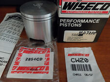 WISECO 87-92 YAMAHA WAVERUNNER 500 PISTON KIT 2ND OVERSIZE 72.50 586P2 586M07250
