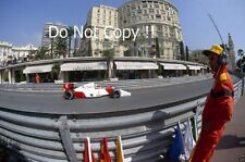 Ayrton Senna McLaren MP4/7A Winner Monaco Grand Prix 1992 Photograph 2