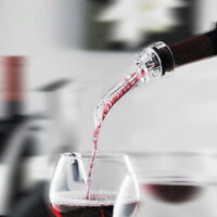 Red Wine Bottle Aerator Decanter Aerating Pourer Spout Bar Accessory Set New LA
